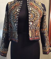 Zara ethnic jacket Blazer Exclusive Edition  Size S Small New With Tag