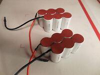 Swiffer Battery - 2 quantity-  7.2 volt 6-cell packs  FS 4000 Model
