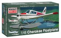 Piper PA28 Cherokee Floatplane  - Minicraft Kit 1:48 - 11674 Nuovo