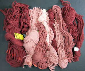 9x Needlepoint/Embroidery THREAD WOOLMASTER & unbranded 3ply Persian wool-FE27