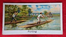 1925 H D Marshall PUNTING #44 Turf Cigarettes SPORTS RECORDS Boguslavsky Card