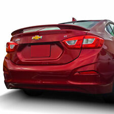 PRE-PAINTED for 2017 CHEVY CRUZE SEDAN 2-POST ABS REAR SPOILER - ANY COLOR