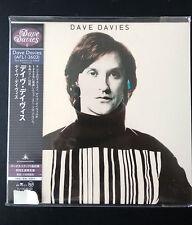 Dave Davies - Dave Davies (Same) mini lp style CD EAN 4988017656969 NEU