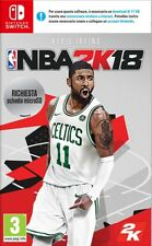 Switch -- NBA 2K18 -- NUOVO