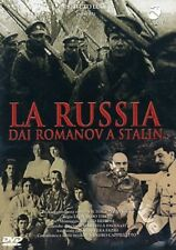 Russia from Romanov to Stalin NEW PAL DVD Italy