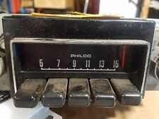 Ford Philco AM Radio   D42A-18806  out of 69 Mustang  worked when pulled out