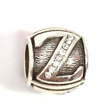 Authentic Brighton Abc Alpha Letter Z Bead W/ Crystals, J9326Z,  New