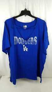 New Era Women MLB Los Angeles Dodgers Blue Shirt Plus Size 4X