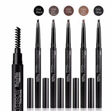 Auto Long Lasting Eye Brow Paint Pen Waterproof Eyebrow Pencil Enhancer Brush
