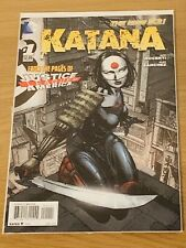 Katana The New 52 #1 DC Comic Near Mint Condition
