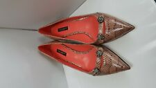Dolce&Gabbana D&G leather ladies shoes