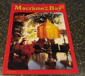 Macrame By The Bay Mac 800 Guitar Strap Purse Lamp Shade Cross Necklace & more