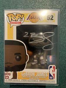 NBA LA LAKERS Lebron James #52 signed autographed FUNKO POP with COA