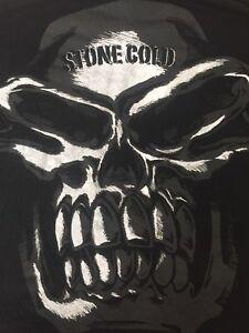 ORG.WWE STONE COLD STEVE AUSTIN SKULL ARRIVE RAISE HELL LEAVE WWF Men T-shirt XL