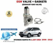 FOR HYUNDAI SANTA FE 2.2DT CRDI 2006-2012 NEW EGR EXHAUST GAS VALVE + GASKETS