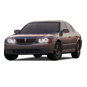 for Lincoln LS 00-02 White LED Halo kit for Headlights