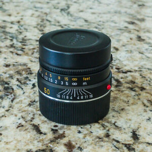 Leica Summarit 50mm f2.5 Lens (Black) 11644
