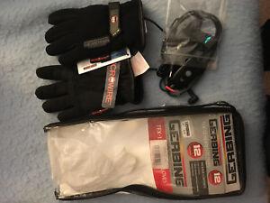 gant chauffant textile gerbing 12v TEX 12 avec controleur