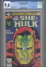 Savage She-Hulk #6 CGC 9.6 1980 Marvel Comics  Ironman App: New Frame