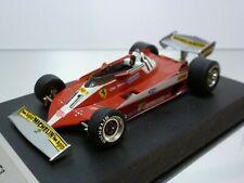 QUARTZO FERRARI 312 T3 GP MONACO '78 REUTEMAN #11 F1 RED 1:43 VERY GOOD on BASE