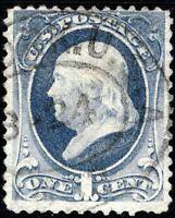 USA 1873 Benjamin Franklin  YT n° 50 Oblitéré / Used