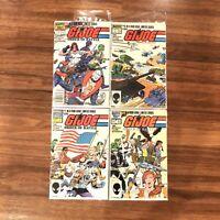 G.I. Joe Order of Battle #1-4 Complete Limited Series (1986 Marvel) 1 2 3 4 DC