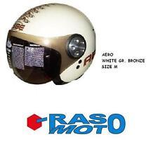Casco OSBE AERO white gr. bronze ( bianco perla ) Freesoul, made in Italy taglia