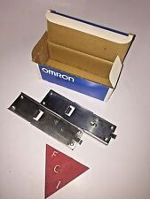 OMRON PLC C200H-DIN01 Din Rail NEW IN THE BOX!