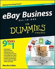 EBay Business All-in-One For Dummies by Marsha Collier (English) Paperback Book