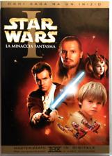 Dvd Star Wars Episodio I - La Minaccia Fantasma Edizione 2 dischi Usato