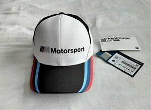 BMW Genuine M Motorsport Cap Collectors Black White Official Merchandise BNWT