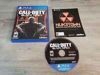 Call of Duty: Black Ops III 3 (PlayStation 4,2015) PS4 CIB FREE SHIPP
