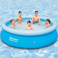 NEU Bestway 305x76 Swimming Pool Fast Set Aufstellpool Schwimmbecken ohne Pumpe