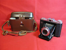 Vintage Zeiss Ikon Nettar 1231/16 120 Folding Camera + Leather case