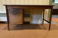 Scandinavian Desk by Folke Ohlsson MCM All Original Unaltered Single Owner