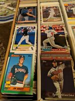 HUGE LOT OF 3,000 plus BASEBALL CARDS / BASEBALL CARD COLLECTION.