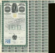 """""""Queen Victoria"""" 100 Pesos Banco De Londres Y Mexico"""