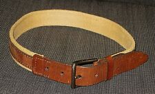 GAP BROWN CANVAS LEATHER BELT TODDLER BOYS GIRLS SIZE 2-5 yo 2 3 4 5