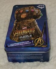 Marvel Avenger Infinity War 48 Piece Puzzle In Collectors Tin - NEW