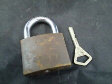 ABLOY  PADLOCK FINLAND-HIGH SECURITY LOCK ORIGINAL BRASS A53