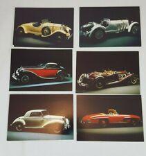 Mercedes-Benz Postcards - Lot of 6.  //AP3