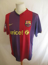 Maillot de football vintage FC BARCELONE Nike Taille L