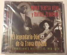 Legendario Duo de la Trov * by Maria Teresa Vera/Rafael Zequeira (CD, Aug-1998,…