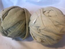 Wool selvedge yarn - ideal for peg loom weaving, extreme knitting and crochet