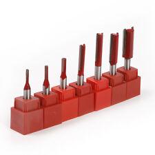 6pcs Machine Carving Router Bit Cutter Knife 1/8 5/32 3/16 1/4 5/16 3/8  inch