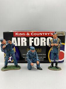King & Country RAF008 RAF08 RAF Ground Crew Set Retired Rare