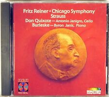 RCA CD 1987 JAPAN Strauss DON QUIXOTE Janigro & Bryon Janis REINER 5734-2-RC