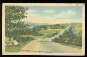 Posted - Superior, Wisconsin, Rural Scene (SuperiorWis22) 1930-1945 ERA