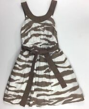 Gymboree Girls Zebra Safari Animal Print Dress 6