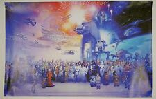 """2010 Official Star Wars Galaxy #6263 Movie Character Poster - 34"""" x 22.5"""""""